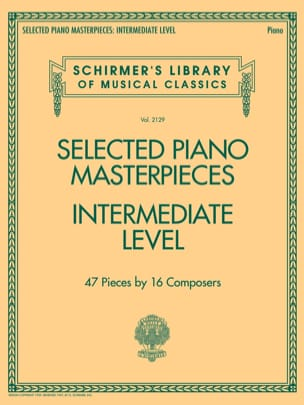 Selected Piano Masterpieces. Intermediate Level - laflutedepan.com