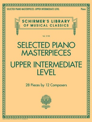 - Selected Piano Masterpieces. Upper Intermediate Level - Sheet Music - di-arezzo.com