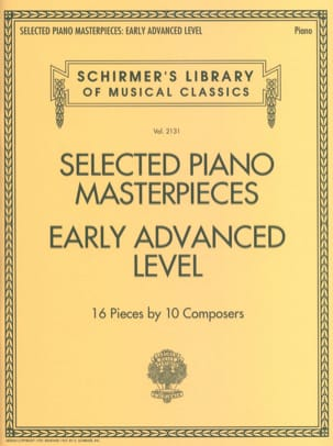 - Selected Piano Masterpieces. Early Advanced Level - Sheet Music - di-arezzo.com