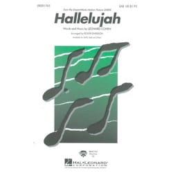 Leonard Cohen - Hallelujah SAB - Sheet Music - di-arezzo.co.uk