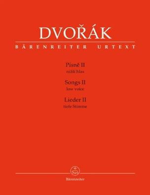 DVORAK - Pisne Serious Voice Volume 2 - Sheet Music - di-arezzo.co.uk