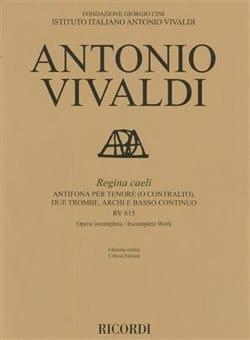 VIVALDI - Regina Caeli RV 615 - Sheet Music - di-arezzo.com