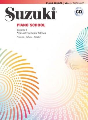 Suzuki Piano School Volume 1 Français avec CD SUZUKI laflutedepan