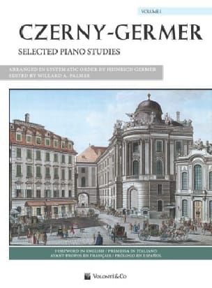 Selected piano studies Volume 1 Czerny Carl / Germer laflutedepan