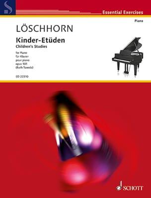 Carl Albert Löschhorn - Kinder-Etüden op. 181 - Sheet Music - di-arezzo.com