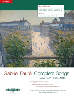 Gabriel Fauré - Complete songs volume 2 High voice - Sheet Music - di-arezzo.com