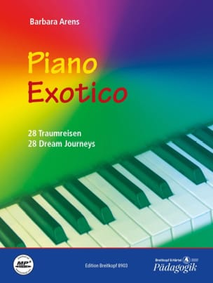 Barbara Arens - Piano Exotico - Partition - di-arezzo.fr