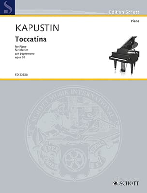Toccatina Opus 36 Nikolai Kapustin Partition Piano - laflutedepan