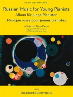Musique russe pour jeunes pianistes - Partition - di-arezzo.fr
