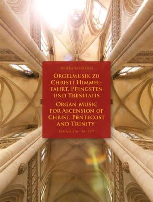 Divers - Orgelmusik zu Christi himmelfahrt, Pfingsten und Trinitas - Partition - di-arezzo.fr