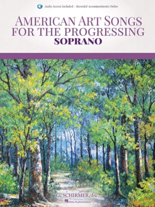 - American art Songs for the progressing. Soprano - Sheet Music - di-arezzo.co.uk