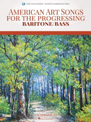 - American art Songs for the progressing. Baritone / Bass - Sheet Music - di-arezzo.com