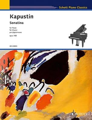 Sonatine Opus 100 - Nikolai Kapustin - Partition - laflutedepan.com