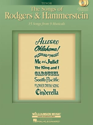 Ii Oscar Hammerstein - The Songs of Rodgers and Hammerstein. Tenor - Sheet Music - di-arezzo.co.uk