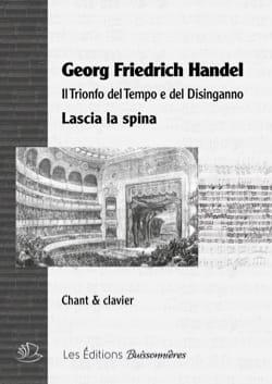 HAENDEL - Lascia spina. - Partition - di-arezzo.es