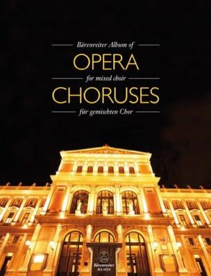 - Bärenreiter Album of Opera Choruses - Partition - di-arezzo.fr