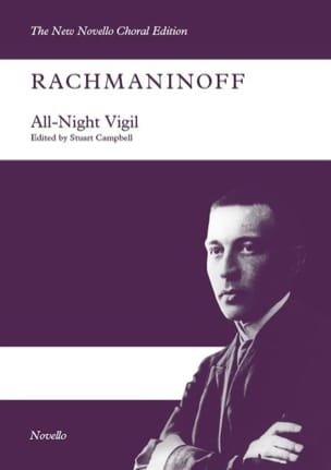 All night Vigil opus 37 - RACHMANINOV - Partition - laflutedepan.com