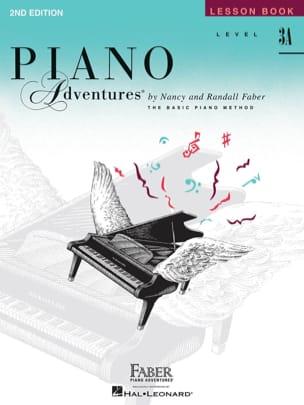 Piano Adventures - Lesson Book - Level 3A Nancy Faber laflutedepan