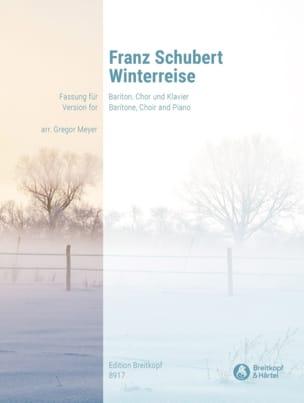 Winterreise D 911 Opus 89 SCHUBERT Partition Chœur - laflutedepan