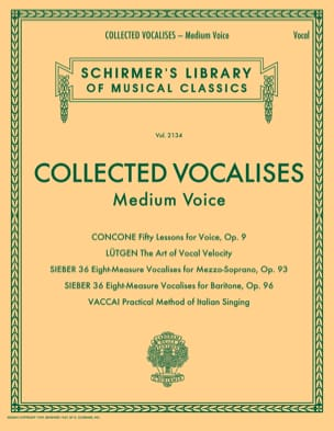 - Collected Vocalises. Average voice - Sheet Music - di-arezzo.com