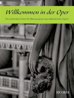 Willkommen in der Oper. Mezzo-Soprano - Partition - di-arezzo.ch