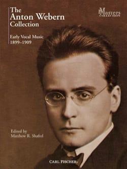 Anton Webern - The Anton Webern Early Vocal Music Collection 1899-1909 - Sheet Music - di-arezzo.co.uk