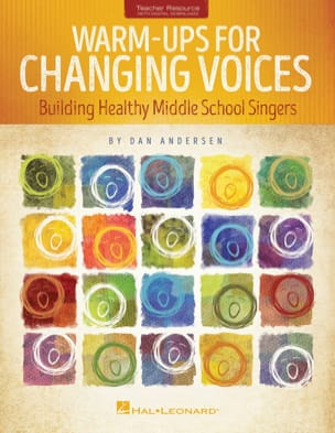 Warm-Ups for changing voices Dan Andersen Livre laflutedepan