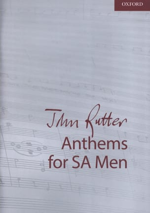 John Rutter - Anthems. SAH - Sheet Music - di-arezzo.co.uk