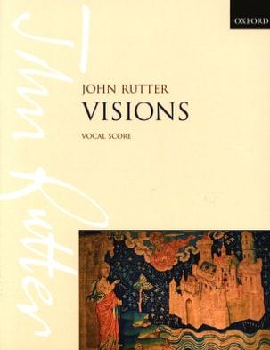 John Rutter - Visions - Partition - di-arezzo.fr