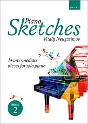 Vitalij Neugasimov - Piano Sketches Volume 2 - Sheet Music - di-arezzo.co.uk