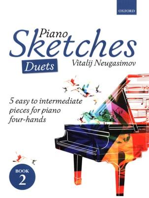 Vitalij Neugasimov - Piano Sketches Volume 2. 4 mains - Partition - di-arezzo.fr