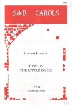 Here is The Little Door Herbert Howells Partition Chœur - laflutedepan