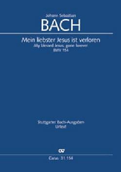 BACH - Cantate 154 Mein liebster Jesus is verloren - Sheet Music - di-arezzo.com