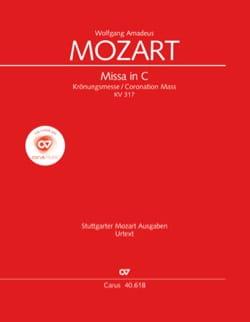 Wolfgang Amadeus Mozart - Krönungsmesse. KV 317 (Grand Format) - Partition - di-arezzo.fr
