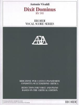 VIVALDI - Dixit Dominus - Sheet Music - di-arezzo.co.uk