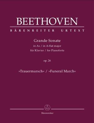 Ludwig van Beethoven - Sonate pour Piano n° 12 en la bémol majeur opus 26 - Partition - di-arezzo.fr