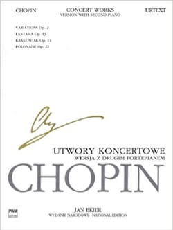 CHOPIN - Works for Piano and Orchestra. 2 pianos - Sheet Music - di-arezzo.co.uk