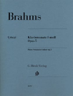 Johannes Brahms - Sonate pour piano n° 3 Opus 5 - Partition - di-arezzo.fr