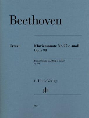 Sonate pour Piano n° 27 en mi mineur Opus 90 - laflutedepan.com