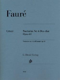 Nocturne n° 6 en ré bémol majeur op. 63 - laflutedepan.com