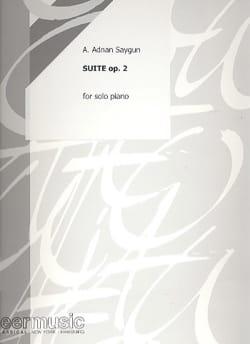 Suite Opus 2 - Adnan Saygun - Partition - Piano - laflutedepan.com