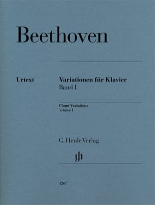 Variations Volume 1 BEETHOVEN Partition Piano - laflutedepan