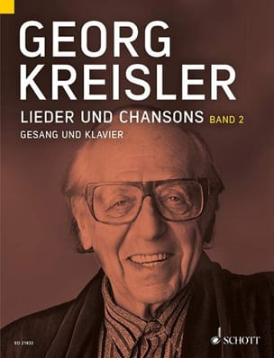 Georg Kreisler - Lieder und Chansons vol.2 - Partition - di-arezzo.fr