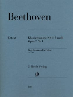BEETHOVEN - Sonata for piano n ° 1 in F minor Opus 2-1 - Sheet Music - di-arezzo.co.uk