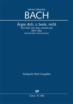 BACH - Cantate 186a Ärgre dich, o Seele, nicht - Sheet Music - di-arezzo.com