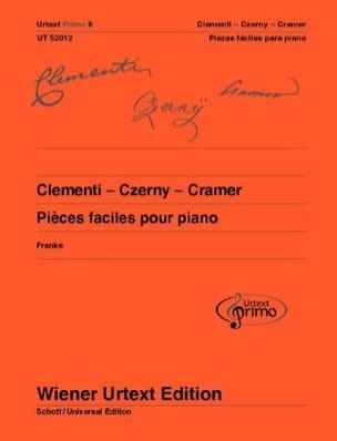 32 pièces faciles pour piano CLEMENTI / CZERNY / CRAMER laflutedepan