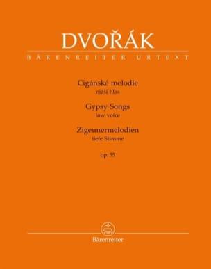 Zigeunermelodien Opus 55. Voix grave - DVORAK - laflutedepan.com