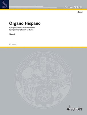 Organo Hispano - Partition - Orgue - laflutedepan.com