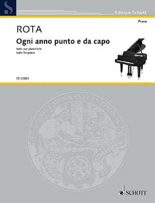Ogni anno punto e da capo - Nino Rota - Partition - laflutedepan.com