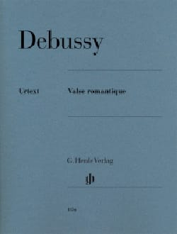 Claude Debussy - Valse romantique L 79 (71) - Partition - di-arezzo.fr